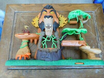Just Play Lion Guard The Rise of Scar Play Set Lion King Disney Imaginext Style