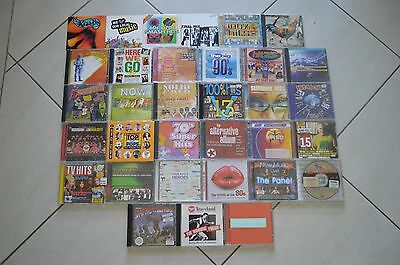 33 Rare Assorted Compilation Compact Dics! Hit Machine Video Hits 100% Hits