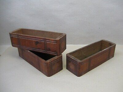 Antique Singer Treadle Sewing Machine Oak Carved Drawers 2 Left 1 Right No Pulls