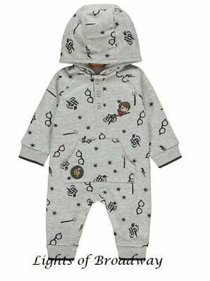 12-18 MONTHS Baby Character Set Harry Potter Wizard All-In-One Bodysuit Primark