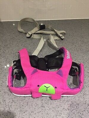 Trunki Pink Betsy Bear ToddlePak Harness / Reins, 6-48 Months