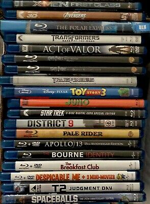 Blu-Ray Movies (Various to Choose from)