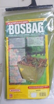 New Large BOSBAG Garden Waste Bag Strong Rubbish Sack Waterproof Heavy Duty
