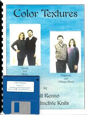 COLOR TEXTURES  by Scott Renno - Garments & St Pats for Elec Mach INCL 940 DISK