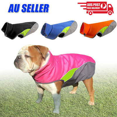 Waterproof Pet Dog Puppy Vest Jacket Warm Winter Dogs Clothes Outdoor Rain Ski