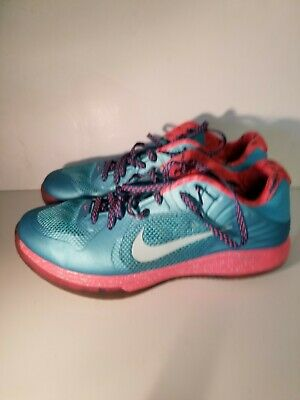 pretty nice e1038 f60cd Nike Hypergamer Low Rose Classic Limited Shoes Turquoise SZ 14 ( 511368-404  )