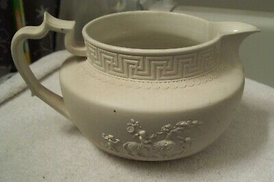 rare turner early 19th century english chariot pitcher staffordshire pottery