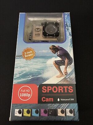 Sport Action Camera Waterproof Ultra HD 1080P Cam With Accessories