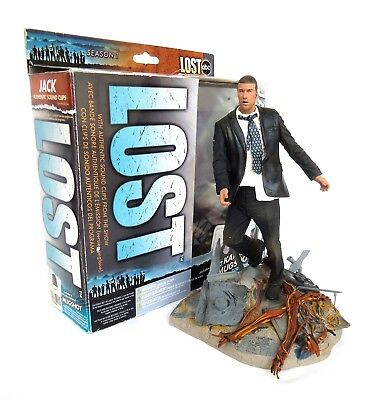 """LOST (Series 1) 6"""" Jack Figurine with sound & props 2006 McFarlane Toys"""