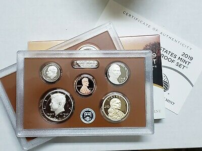 2019 S United States Mint Proof Set 10 Coin No Extra W Cent x 5 SETS!