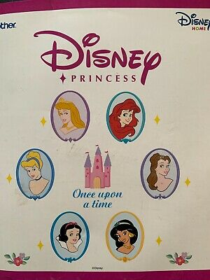 Brother DISNEY Home PRINCESSES Embroidery Card for Sewing Machine