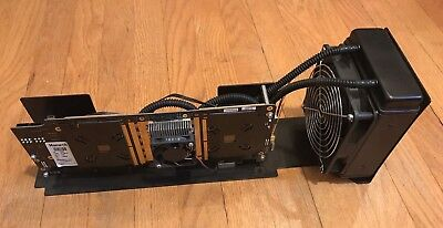 Butterfly Labs Monarch 450GH/s Bitcoin Miner USB or PCI-E Card SHA256 Used BFL
