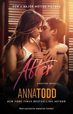 After by Anna Todd (English) Paperback Book Fast Shipping!