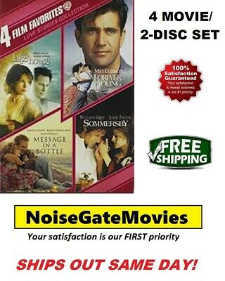 Love Stories Collection DVD 2-Disc Set: Sommersby, Forever Young, The Lake House