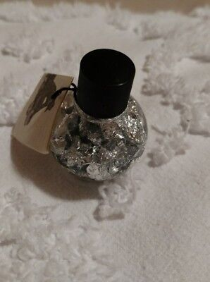 Vintage Silver Flakes in a Bottle-Made in Brazil w/Certificate of Authenticity