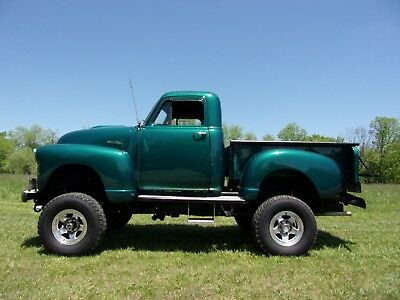 1953 Chevrolet Other Pickups 4X4 w/ Blazer Chassis 1953 Chevrolet 3100 Short bed Pick-Up 4x4 V8 Automatic