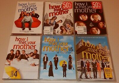 Season 1 2 3 4 5 6 How I Met Your Mother TV Show DVD Sets Most Sealed