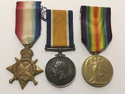 WW1 TRIO To T-20285  Drv. J T FORD ASC