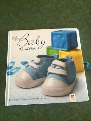 Hinkler My Baby Record Book: Blue