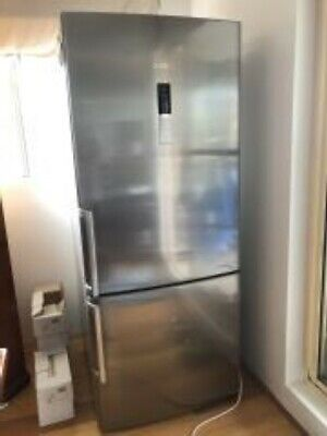 Bosche 452L Stainless Steel Bottom Mount Refrigerator. Used
