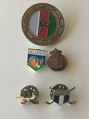 HOCKEY BADGES: Oman and assorted others