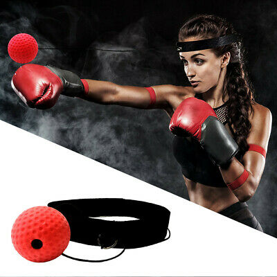 Boxing Reaction Training Ball Boxing Punch Exercise Fight Ball React Reflex Ball