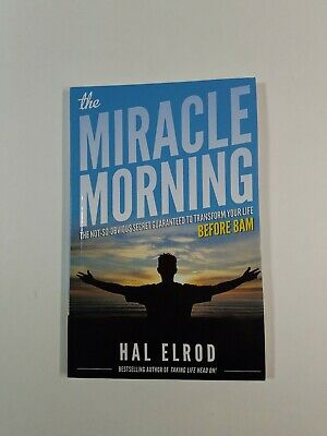 The Miracle Morning By Hal Elrod Paperback 2017