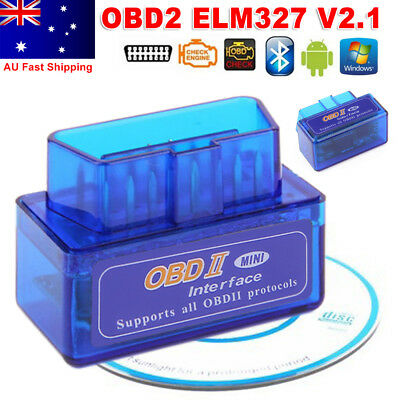 ELM327 OBDII OBD2 Bluetooth Car Scanner Torque Android CAN BUS Auto Scan Tool YW