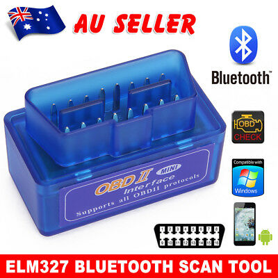 ELM327 OBDII OBD2 Bluetooth Car Scanner Torque Android BUS CAN Auto Scan Tool BZ