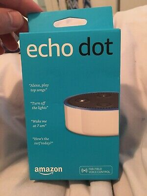 Amazon Echo Dot (2nd Generation) Smart Assistant - White