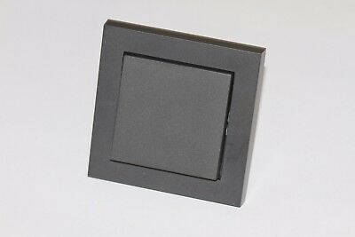Gira KNX Push button 2 way 184 00  Anthracite Complete