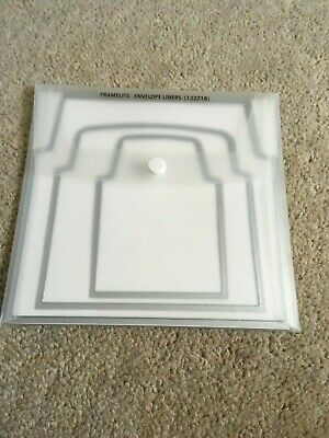 Stampin' Up! Envelope Liners Framelits Dies (Retired) SIZZIX