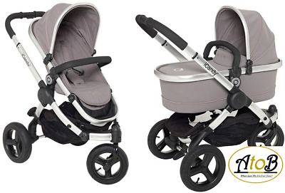 iCandy Peach Jogger With Carrycot Glacier