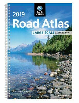 2019 Rand McNally Large Scale Road Atlas USA (Spiral-bound, 2018)