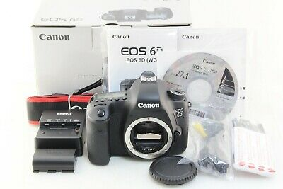 Near Mint Canon EOS 6D 20.2MP Digital SLR Camera Body Only 6949 clicks