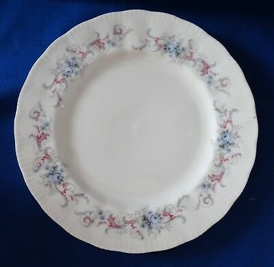 PARAGON English bone china Lot of 4 Salad Dessert Plate   ROMANCE