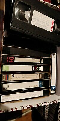 Job Lot Of Used VHS Tapes (75/80ish)