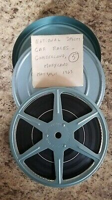8mm Movie 1963 National Sports Car Races Cumberland Maryland