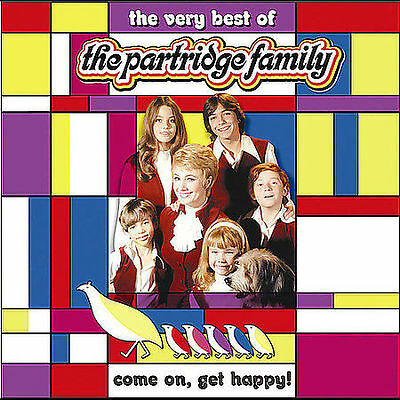 Come on Get Happy!: The Very Best of Partridge Family [CD, New /Sealed]