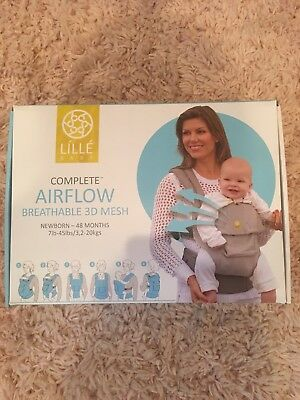 NEW Lillebaby The Complete Airflow 360° Ergonomic Six-Position Baby & Child
