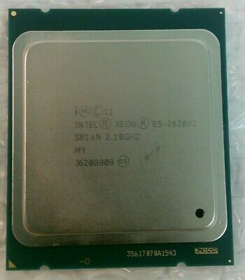 Intel SR1AN Xeon E5-2620V2 2.1 GHz CPU Processor