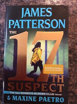 Women's Murder Club: 17Th Suspect by James Patterson (2018, Hardcover).