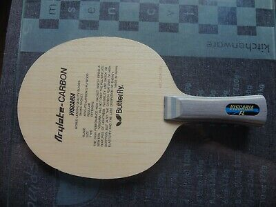 used table tennis blade / rubber / bat  BUTTERFLY VISCARIA OFF