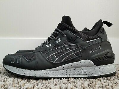 finest selection 10912 813f0 ASICS GEL-LYTE MT Black / Grey Reflective Sneaker Boot H6K1L-9090 Men's 10
