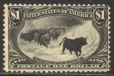 U.S. #292 Unused - 1898 $1.00 Trans-Mississippi ($800)