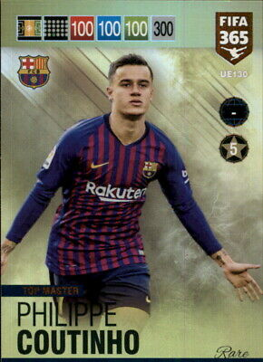 2019 PANINI ADRENALYN XL FIFA 365 UPDATE * TOP MASTER RARE * Coutinho UE130