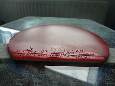 used table tennis rubber Armstrong Seifuku SS Conqueror 42°  W154mm x H162mm