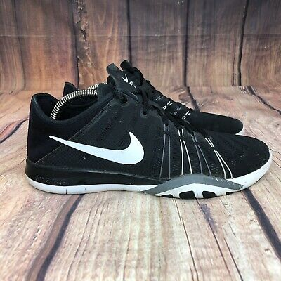 2b6d9a004a8d0 Nike Free Tr 6 Running Shoes Women Size 8.5 Athletic Training Shoes 833413- 001