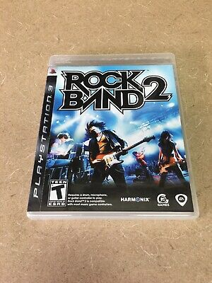 Sony PlayStation 3 PS3   Rock Band 2   Complete