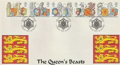 Stamps 1998 Heraldry London Heyden First Day Cover Postal History